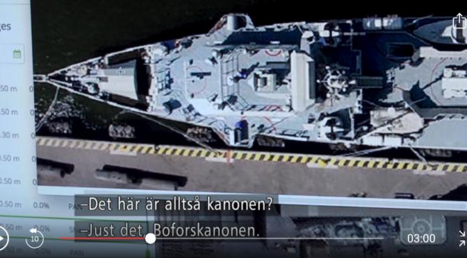 Svenska vapen i Jemen. Men bara för fredliga ändamål väl?